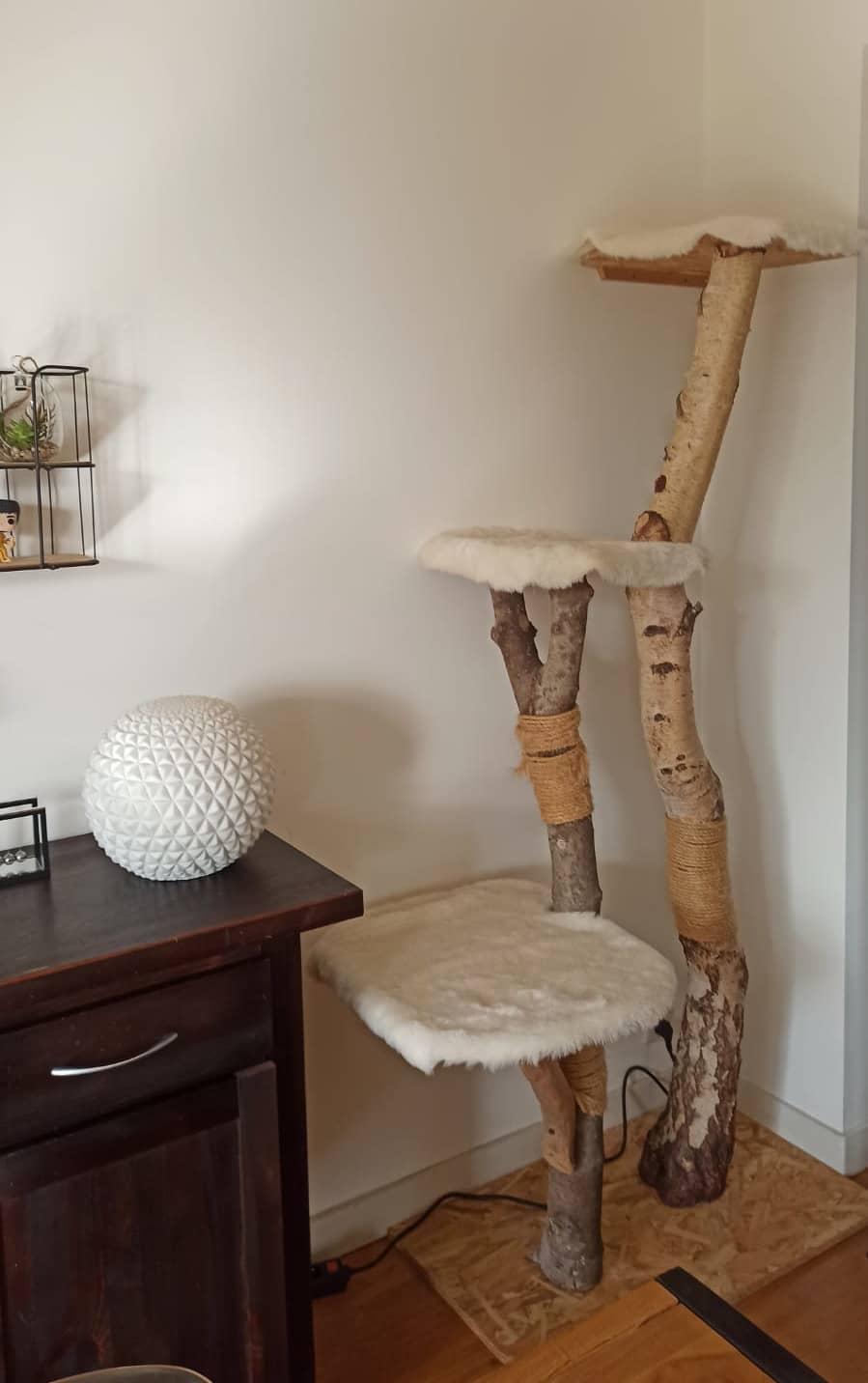 DIY arbre a chat