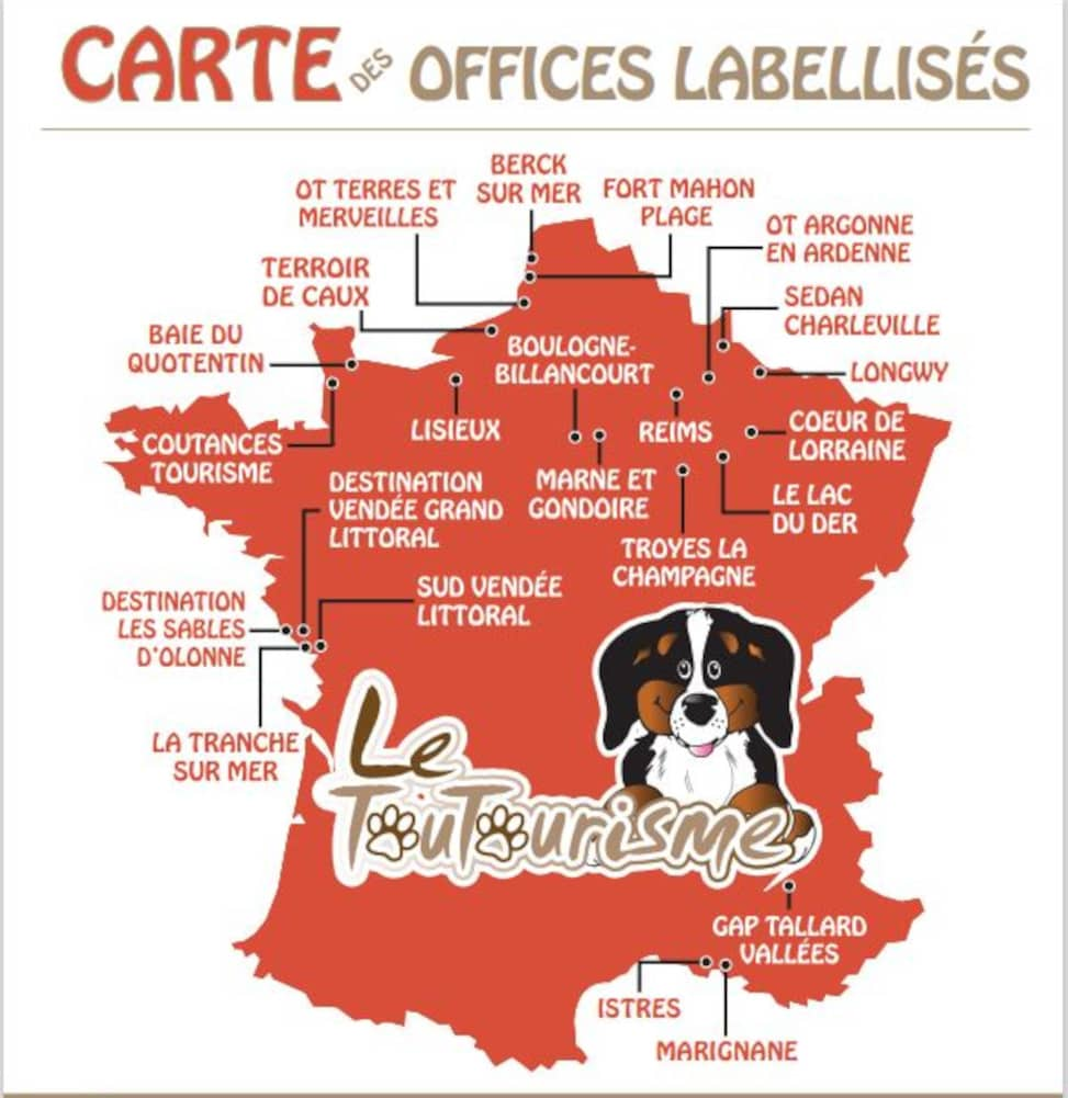 carte office toutourisme